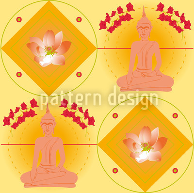 Bangkok Gelb Vektor Muster
