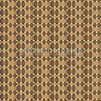 Basket Weave Variation Seamless Vector Pattern