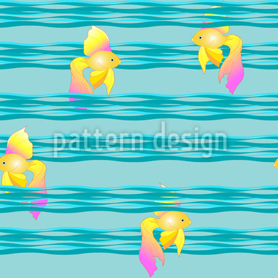 Goldfish On Waves Design Pattern