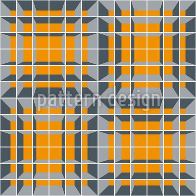 Tribut An MC Escher Nahtloses Vektor Muster