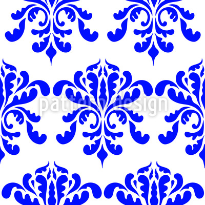 Baroque Blossom Seamless Vector Pattern Design
