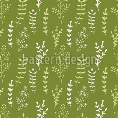 Blätter und Zweige Rapportiertes Design
