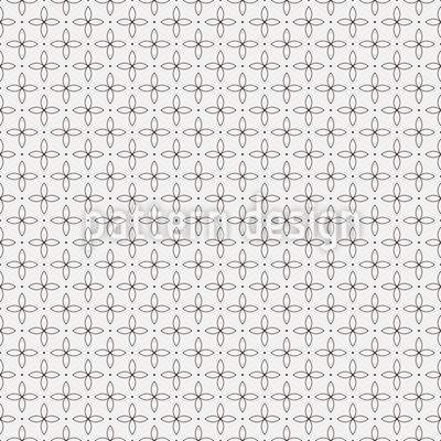 Kreuz-Blätter Vektor Muster