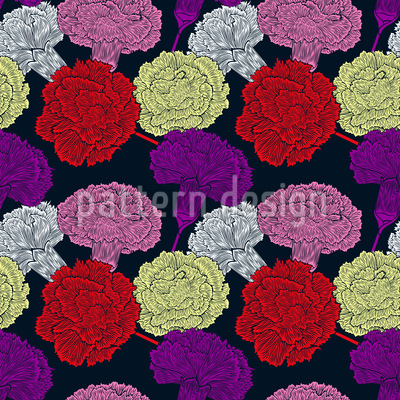 Carnation Blossoms Design Pattern