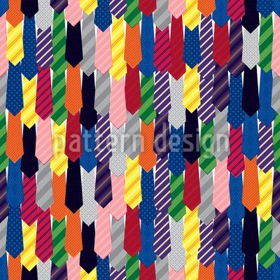 Ties Seamless Pattern