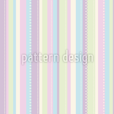 Candy Stripes Repeating Pattern