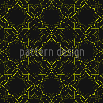 Golden Art Deco Pattern Design