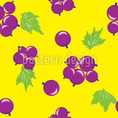 Sommer Johannisbeere Musterdesign