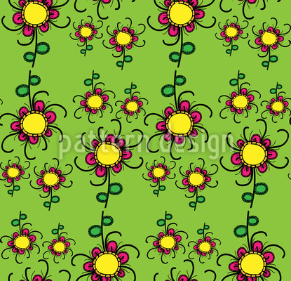 Floral Twist Pattern Design