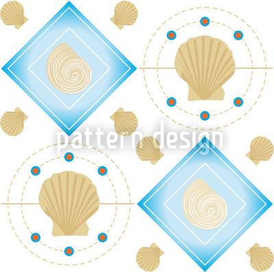 Mitilo Bianco Nahtloses Muster