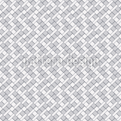 Zigzag Weave Vector Ornament