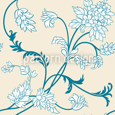 Jorinda Seamless Vector Pattern Design