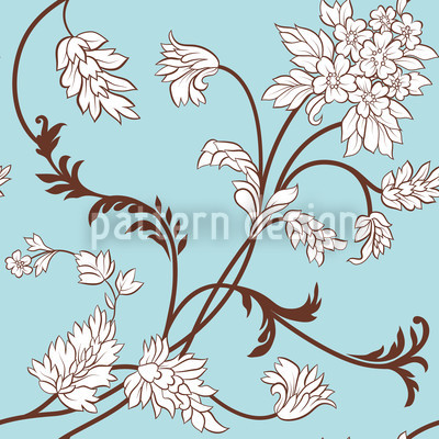 Blumenranken Vektor Design