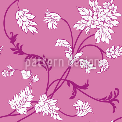 Pinkabelle Seamless Vector Pattern Design