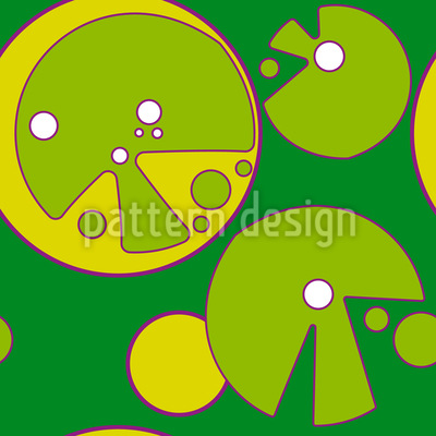 Popart limes Vector Pattern