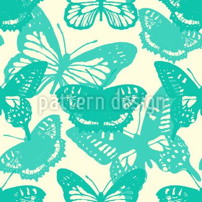 Mein Schmetterling Nahtloses Muster