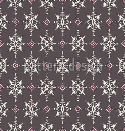 Vintage Sternen Mosaik Vektor Muster