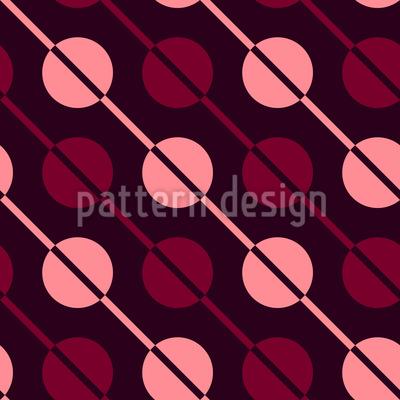Diagonale Streifen und Tropfen Musterdesign