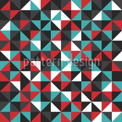 Dreieckiges Mosaik Designmuster
