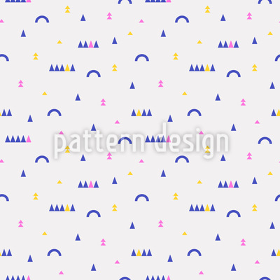 Minimalist Square Shapes Seamless Pattern