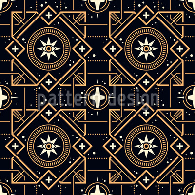 Magical Squares Pattern Design