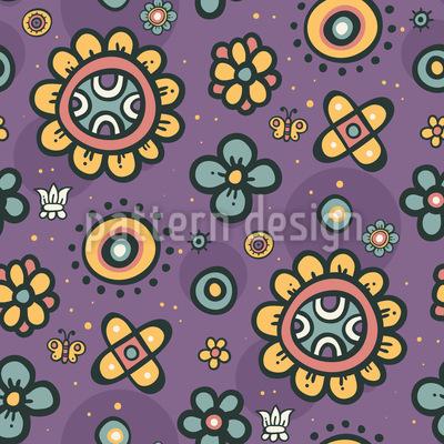 Blumen Pop Vektor Design