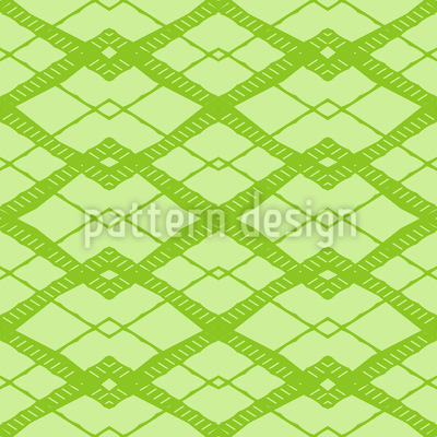 Greeting Sixties Seamless Vector Pattern Design