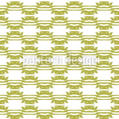 Indonesian Waves Seamless Vector Pattern
