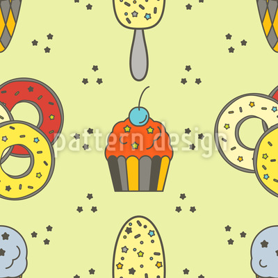 Sweet Tooth Pattern Design