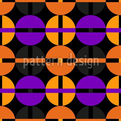 Retro Uhrwerk Nahtloses Vektor Muster