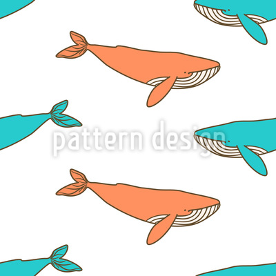 Freundliche Wale Rapport