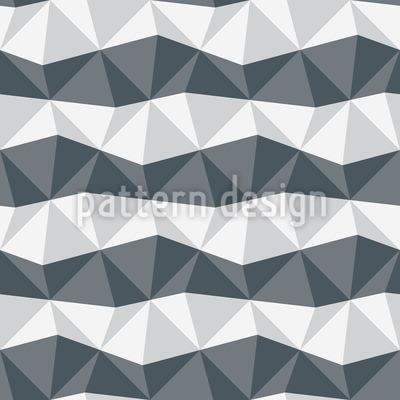 Zebra Geometrie Nahtloses Vektormuster