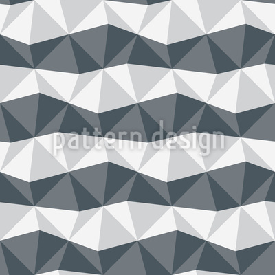 Zebra Geometry Pattern Design