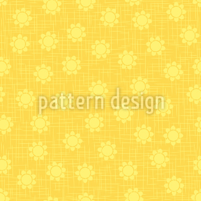 Flower On Gunny Vector Design
