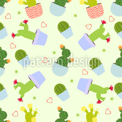 Kaktus Mix Rapportmuster