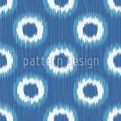 Faux Shibori Seamless Vector Pattern Design