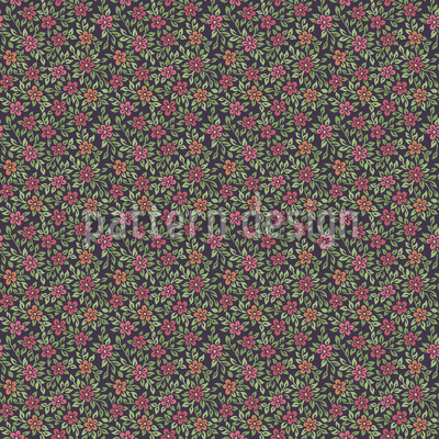 Dämmerung im alten Garten Nahtloses Vektor Muster