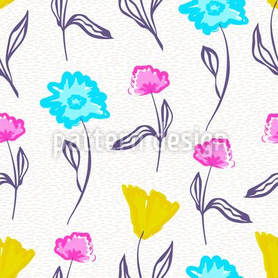 Aquarell Blumen Vektor Design