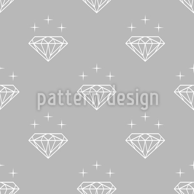 Diamanten-Silhouetten Muster Design