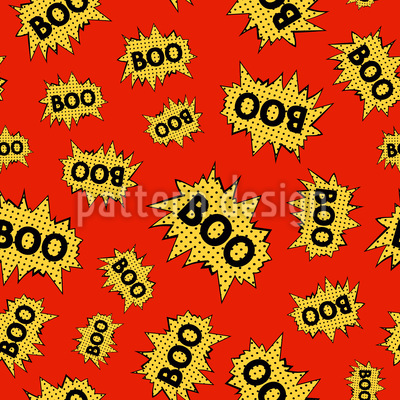 Comic Action Seamless Pattern