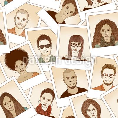 Foto Portraits Designmuster