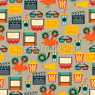At The Cinema Pattern Design