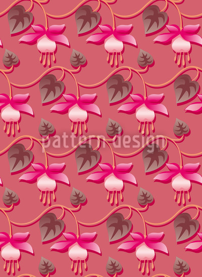 Pink Fuchsia Repeat Pattern