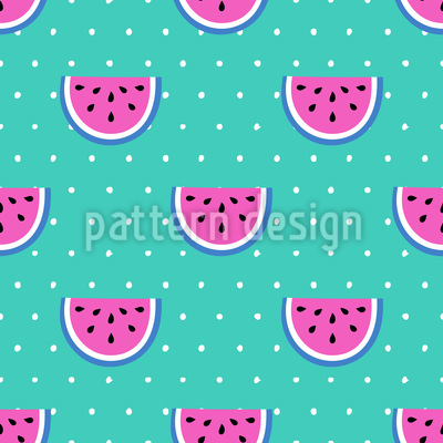 Wassermelonen Party Nahtloses Vektormuster