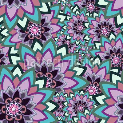 Flower Life Pattern Design
