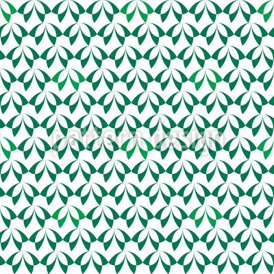 Blätterwald Nahtloses Muster