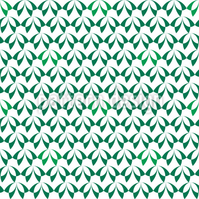 Forest of Leaves Seamless Pattern