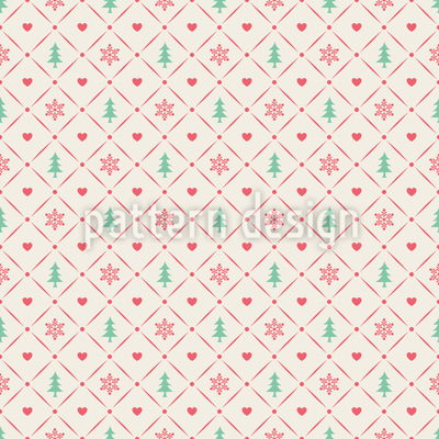 Advent Dreams Pattern Design