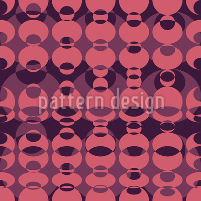 Lava Lamp Seamless Pattern