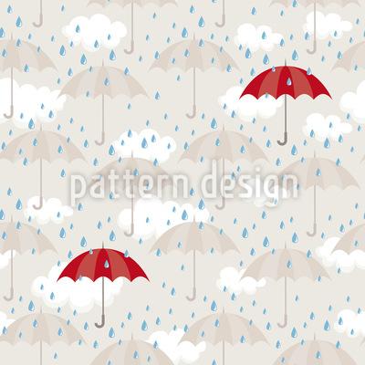 Regen und mehr Regen Vektor Ornament